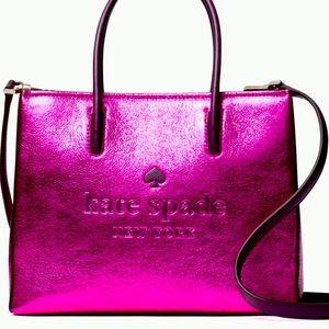 💖Kate Spade Trista Crinkle Shopper Tote💖NIB💖